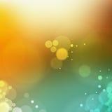 abstrakt bakgrundsbokehlampa Royaltyfria Bilder