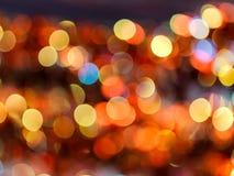 abstrakt bakgrundsbokehserie Arkivfoton