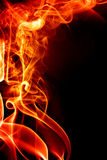 abstrakt bakgrundsbrand