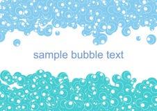 abstrakt bakgrundsbubbla Royaltyfria Foton