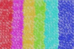 Abstrakt bakgrundsbubblatextur med olika färger Arkivfoto