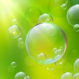abstrakt bakgrundsbubblor royaltyfri illustrationer
