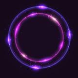 abstrakt bakgrundscirkel Royaltyfri Foto