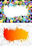 abstrakt bakgrundscirklar royaltyfri illustrationer
