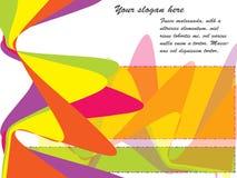 abstrakt bakgrundscolorfoul vektor illustrationer