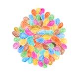 abstrakt bakgrundscrayon Garneringdesignbeståndsdel akvareller för drawhandpapper Royaltyfria Bilder