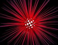 abstrakt bakgrundsdesign för allergi 3d vektor illustrationer