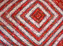 abstrakt bakgrundsfärg Handgjord prydnad för patchwork Arkivfoton
