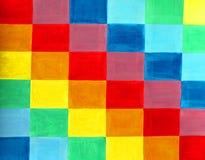 abstrakt bakgrundsfärgflagga Stock Illustrationer