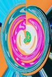 abstrakt bakgrundsfärgswirl royaltyfria foton