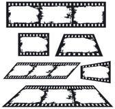 abstrakt bakgrundsfilmremsa stock illustrationer
