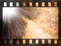 abstrakt bakgrundsfilmremsa Royaltyfri Bild