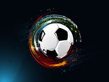 abstrakt bakgrundsfotbollgrunge stock illustrationer