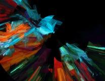 abstrakt bakgrundsfractal Royaltyfria Bilder