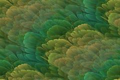 abstrakt bakgrundsfractal Royaltyfri Bild