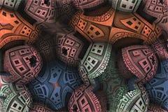 abstrakt bakgrundsfractal Royaltyfria Foton