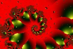 abstrakt bakgrundsfractalillustration Royaltyfri Bild