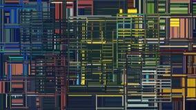 abstrakt bakgrundsfyrkanter Arkivfoto