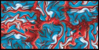 abstrakt bakgrundsgelé Arkivfoto