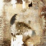 abstrakt bakgrundsgrunge Royaltyfria Bilder