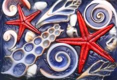 abstrakt bakgrundshav Royaltyfria Bilder