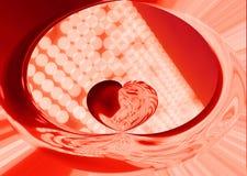 abstrakt bakgrundshjärta Royaltyfri Bild