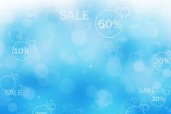 Abstrakt bakgrundsillustration av försäljningen Arkivbild