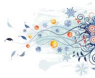 abstrakt bakgrundsjul royaltyfri illustrationer