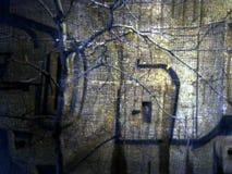 abstrakt bakgrundskanfas Royaltyfri Foto