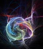 abstrakt bakgrundskaos Royaltyfria Bilder