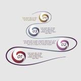 Abstrakt bakgrundskort och linjer Arkivbild
