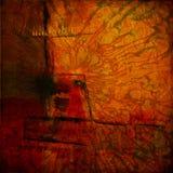 abstrakt bakgrundskortgrunge Arkivbild