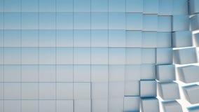 abstrakt bakgrundskuber I stånd animering för ögla