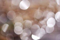 abstrakt bakgrundslampacirklar Fotografering för Bildbyråer