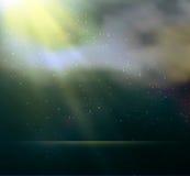 abstrakt bakgrundslampamagi Fotografering för Bildbyråer