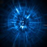 abstrakt bakgrundslampatrails Royaltyfri Foto