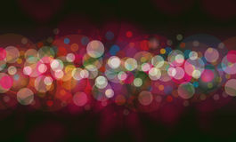 abstrakt bakgrundslampor Royaltyfria Foton
