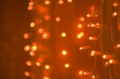 abstrakt bakgrundslampor Royaltyfria Bilder