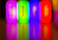 abstrakt bakgrundslampor Royaltyfri Fotografi
