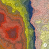 abstrakt bakgrundsliggande mosaik Royaltyfri Bild