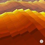 abstrakt bakgrundsliggande Mosaisk vektor Arkivbild