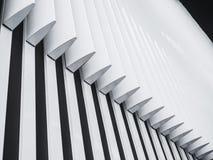 Abstrakt bakgrundslinje modern desig för arkitekturdetaljfasad Arkivbilder