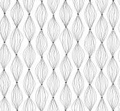 abstrakt bakgrundslinjer Geometrisk prick fodrad sömlös modell Royaltyfri Foto