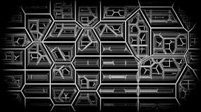 abstrakt bakgrundslinjer Sprucken stentapet r Sprickakonstverk Arkivbild