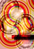 abstrakt bakgrundslutningregnbåge stock illustrationer