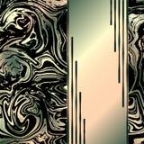 abstrakt bakgrundsmarmor Moderiktigt marmorera mallen royaltyfri illustrationer