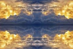 Abstrakt bakgrundsmodell som göras från moln Arkivfoto