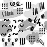 Abstrakt bakgrundsmodellvektor stock illustrationer