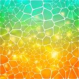abstrakt bakgrundsmosaik Arkivbilder