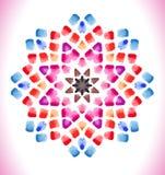 abstrakt bakgrundsmosaik Royaltyfri Foto